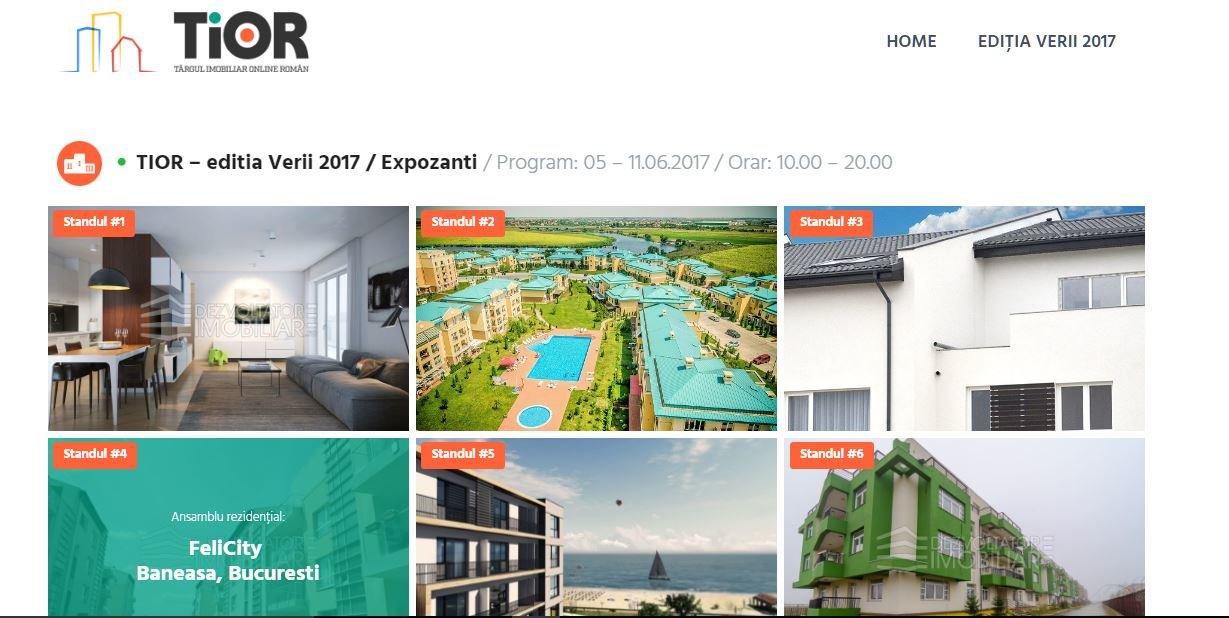 A început a doua ediție TIOR – singurul Târg Imobiliar Online din România - Targ Imobiliar Online Roman