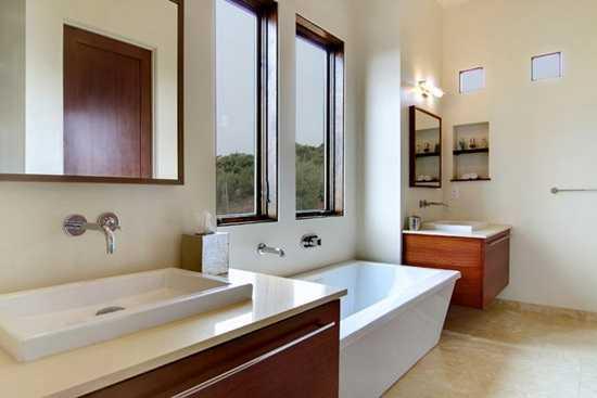 Modificari pentru o baie in stil contemporan