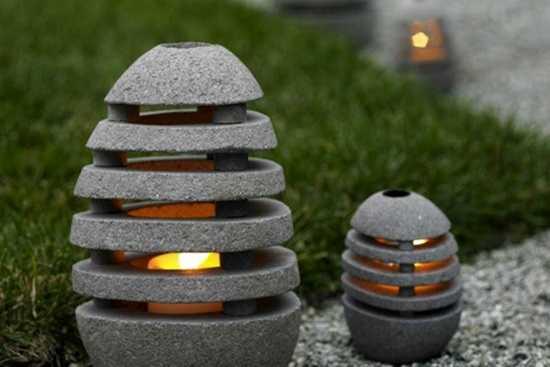 Moduri de iluminare artificiala a gradinii