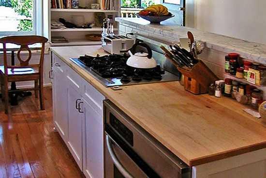 Despre mobilierul de bucatarie: tejghea
