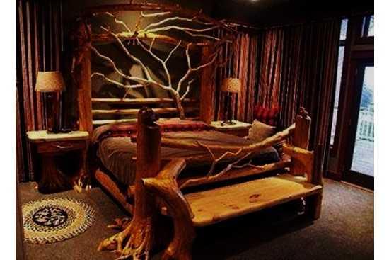 Ti-ar placea un dormitor exotic?