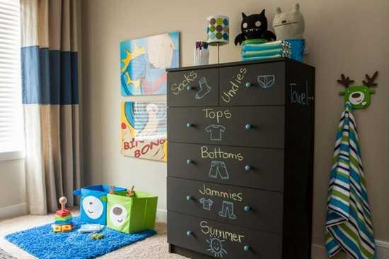 Curat in camera copilului - planul saptamanal