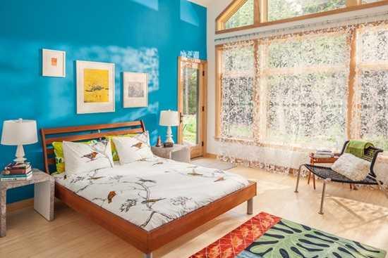 Dormitoare albastrii