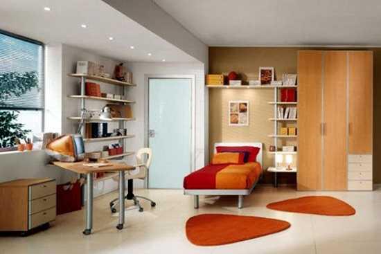O camera moderna pentru o adolescenta
