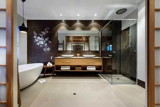 Elemente asiatice pentru decorarea baii