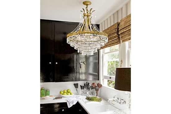 Idei pentru iluminarea bucatariei
