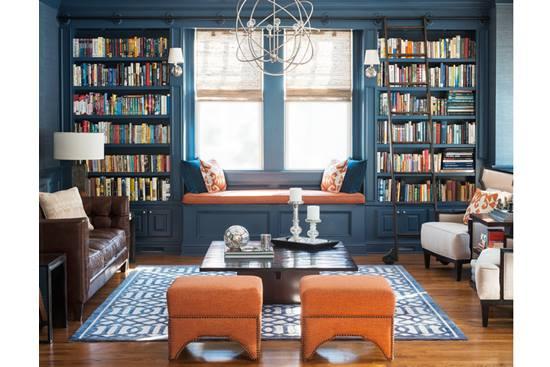 Transformari: Vopseste interiorul bibliotecii