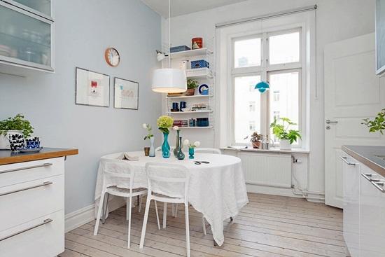 Scandinav, dar cu un strop de culoare