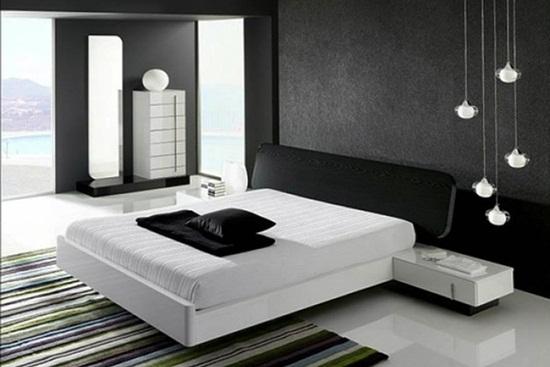 Conceptul de dormitor contemporan