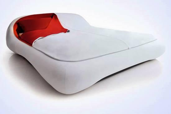 Amenajarea dormitorului si cele mai ciudate paturi