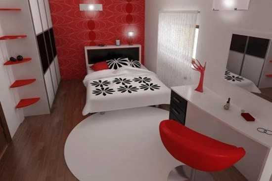 Stilul minimalist in dormitor