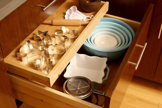 Cate feluri de depozitari obisnuite sunt in bucatarie?