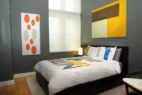 Dormitoare in culori neutre