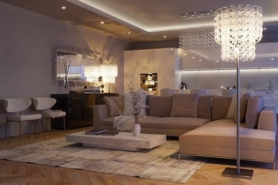 Cum obtii un living luxos?
