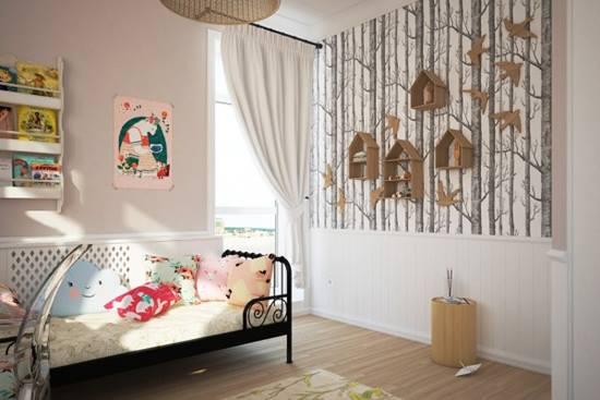 Despre peretii din camera copiilor