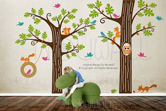 Pereti colorati pentru copii