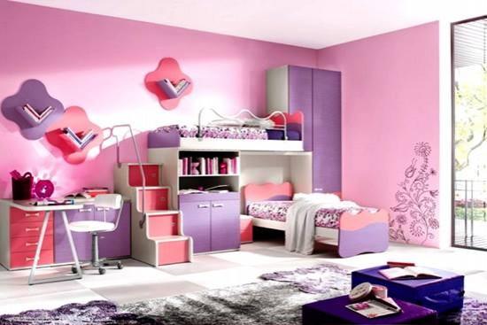 Un dormitor pentru fete si fetite