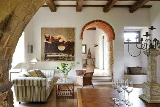 Amenajari interioare in stil italian