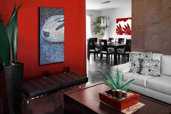 Doar o piesa a puzzle-ului: Artele vizuale in amenajari interioare