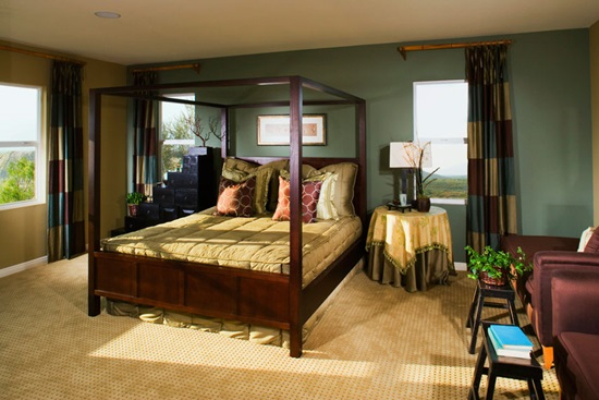 Stiluri de amenajarea a dormitorului