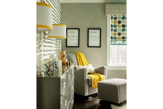 Camera pentru bebe: o singura camera, mai multe imprimeuri