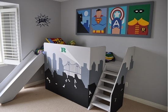 Camere cu supereroi