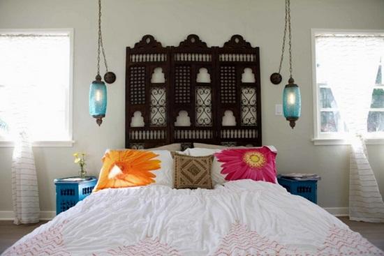 Amenajarea dormitorului: un pat mai frumos