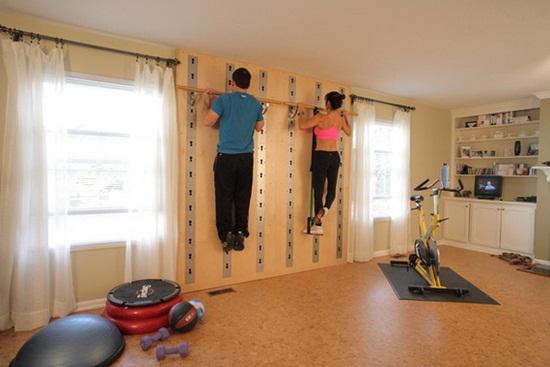 Exemple de sali de gimnastica pentru acasa
