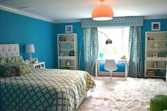 Magie albastra in dormitor