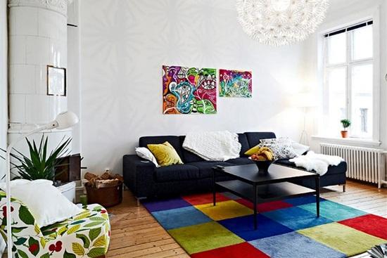 Importanta culorilor in amenajarile interioare – partea I