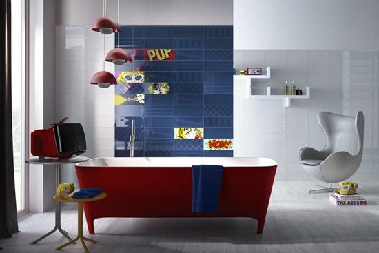 Nu te-ai fi gandit ca o baie poate arata asa!