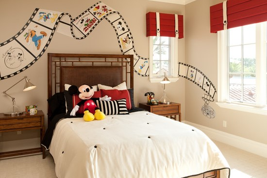 5 camere inspirate din lumea Disney – Mickey Mouse