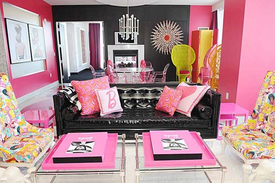 Barbie – papusa care da tonul in home design