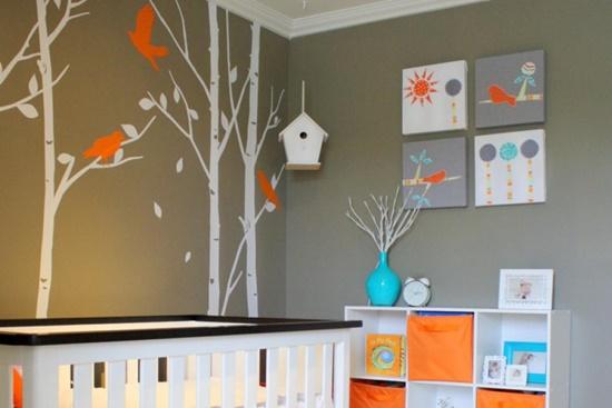 Desene pe pereti, bucurie in suflete de copii