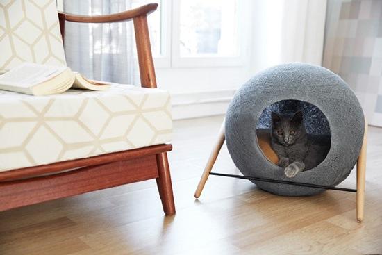 Culcus de somn usor pentru pisici