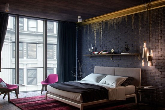 Peretii din dormitor – decorati cu drag si spor
