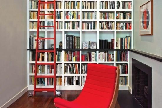 Scara pentru biblioteca - ajutor pentru cititori