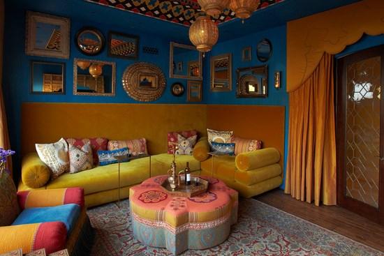 Stilul marocan sau cum sa creezi un living vibrant