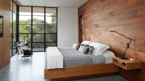 Specialitatea dormitorului - un perete decorat altfel