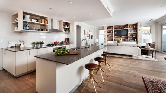 Conceptul open space - confortul familiei la un loc