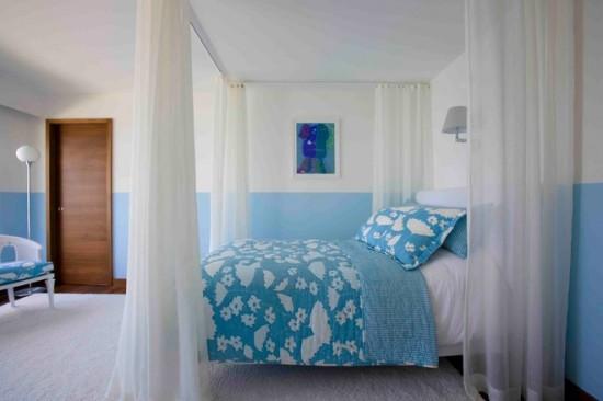 Cate nuante de albastru, atatea variante de dormitoare
