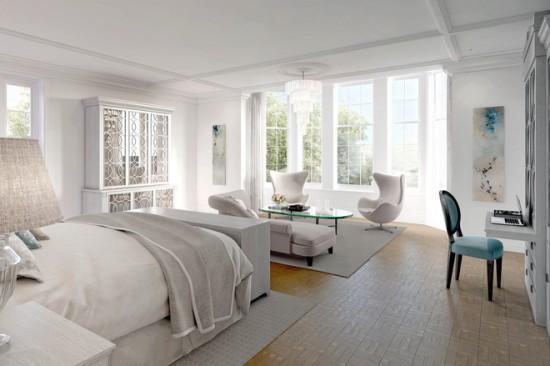 Sugestii in dormitor: decorarea intr-o singura nuanta II