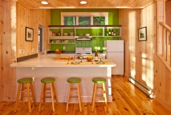 Un strop de verde in bucatarie vine cu o doza de energie