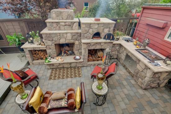 Bucatarul familiei in actiune – la gratarul in aer liber