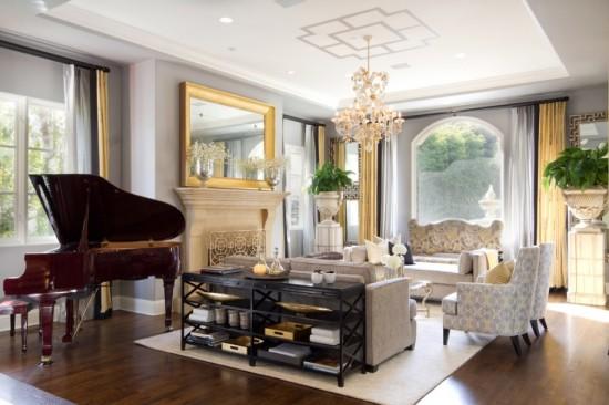 Nuante si accente bogate pentru un living elegant I