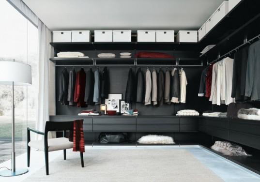 Dressing-ul, proba de fashion in amenajarea dormitorului