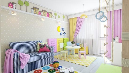 Inspiratie pe pereti pentru copii inteligenti