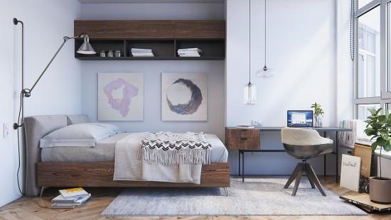 Dormitor in stil scandinav -  idei si inspiratie