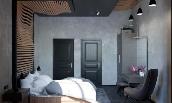 Dormitoare ce uimesc prin peretii surprinzatori