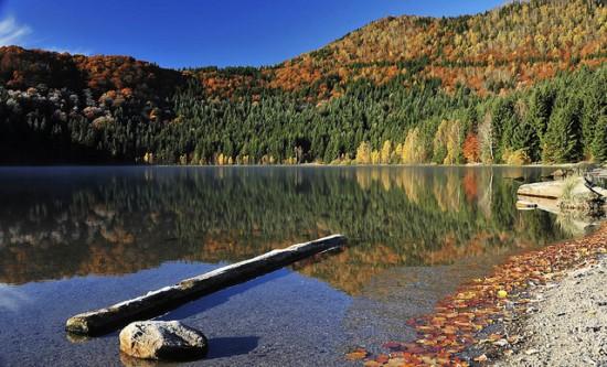 Lacul Sfanta Ana - lacul din vulcanul stins
